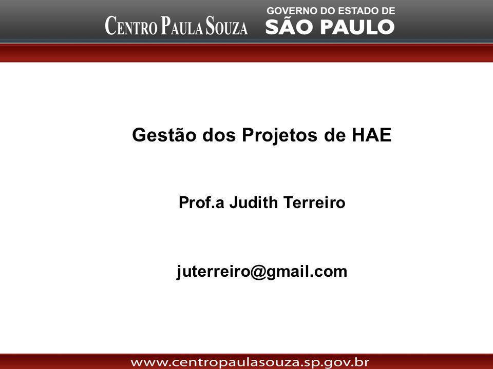 Gestão dos Projetos de HAE