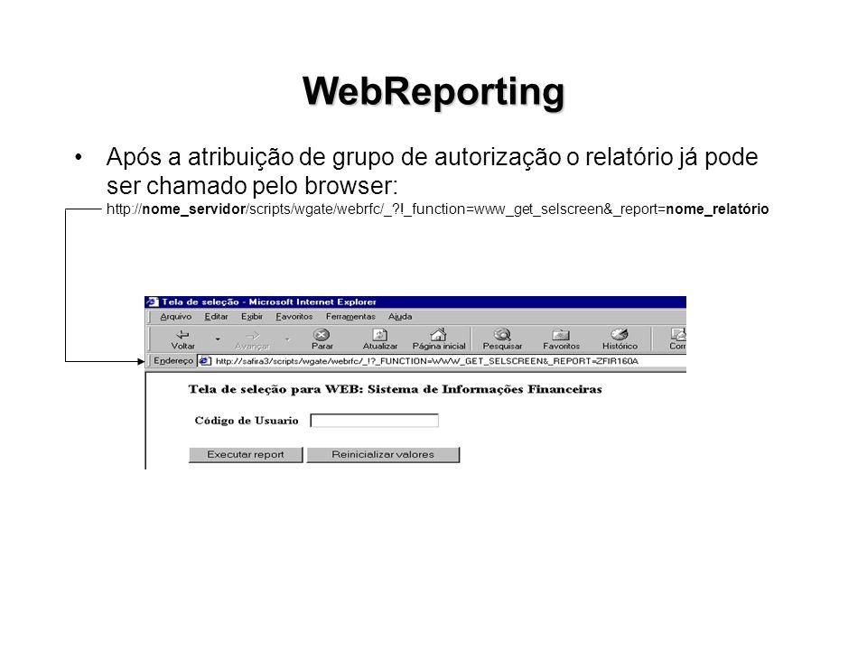 WebReporting