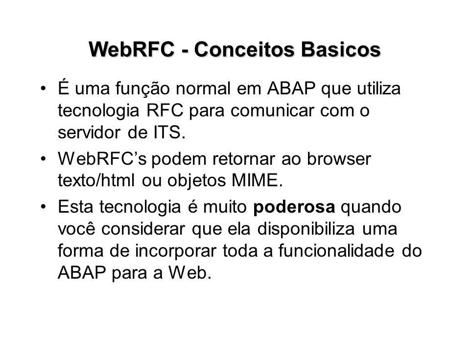 WebRFC - Conceitos Basicos