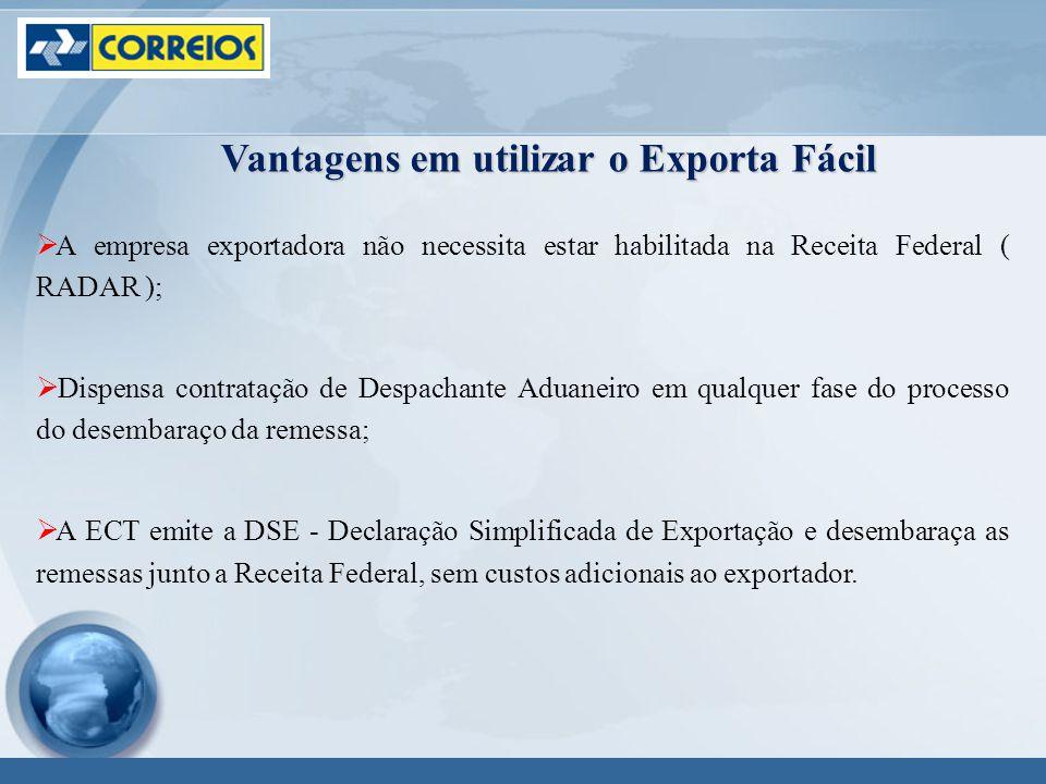 Vantagens em utilizar o Exporta Fácil