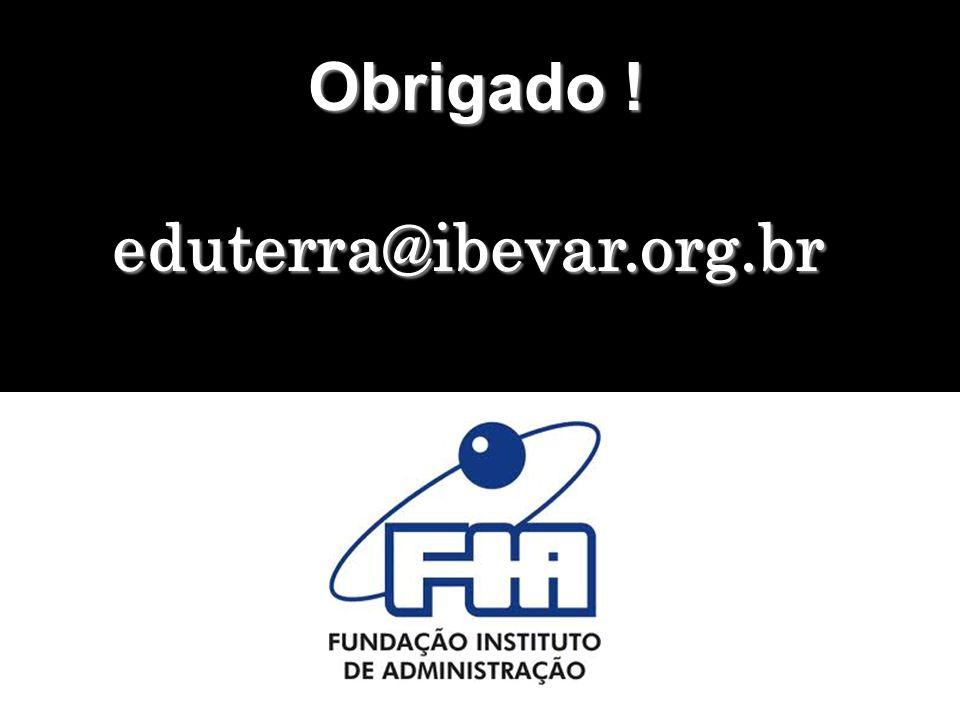 Obrigado ! eduterra@ibevar.org.br
