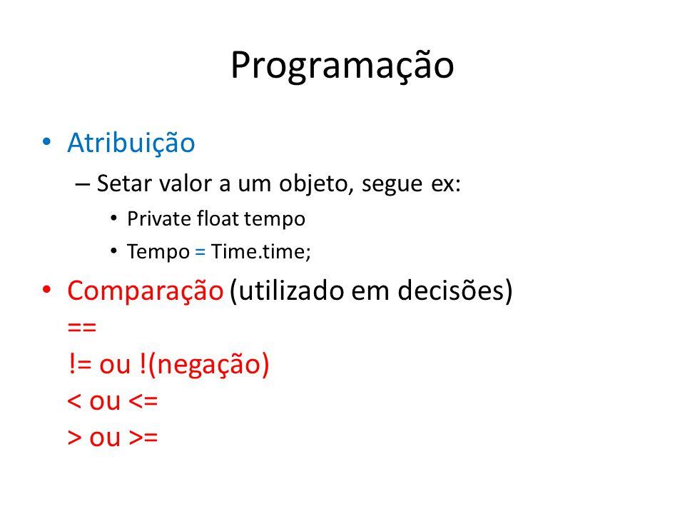 Programação Atribuição