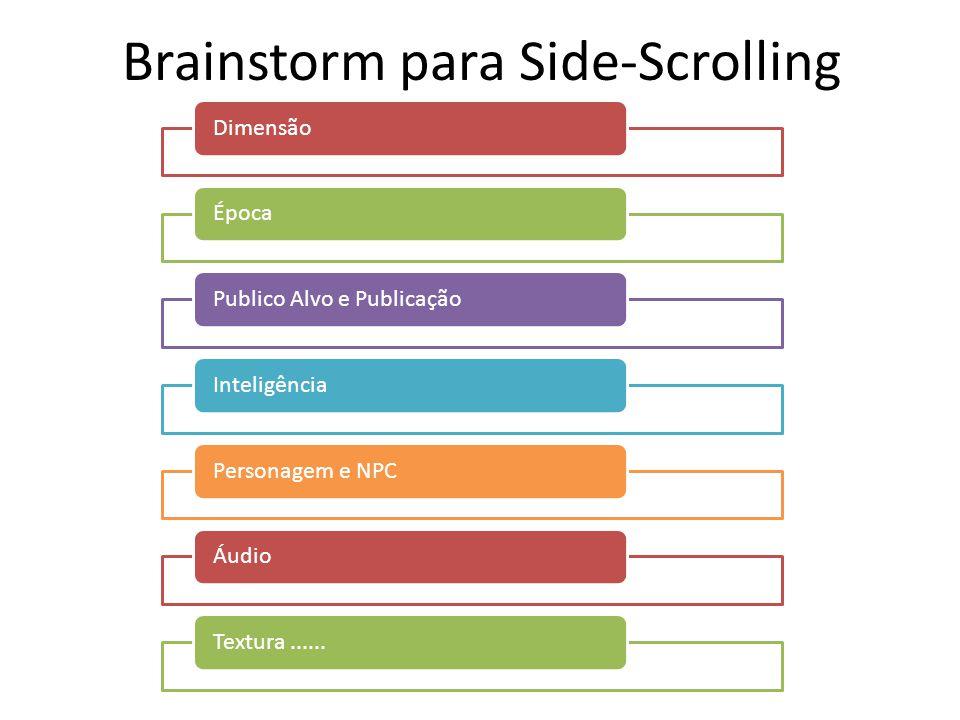 Brainstorm para Side-Scrolling