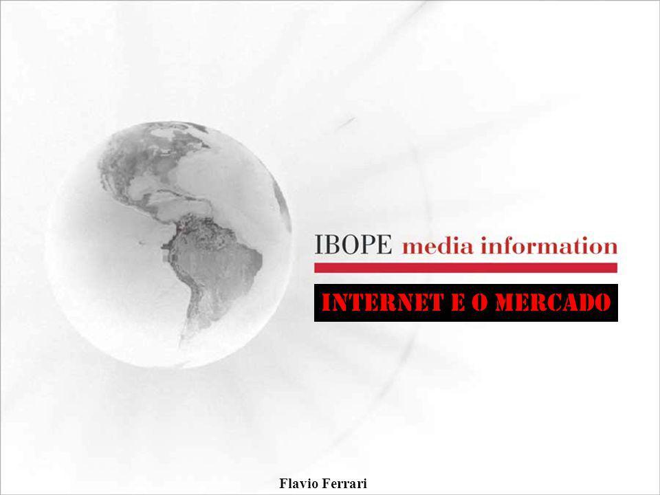 INTERNET E O MERCADO Flavio Ferrari