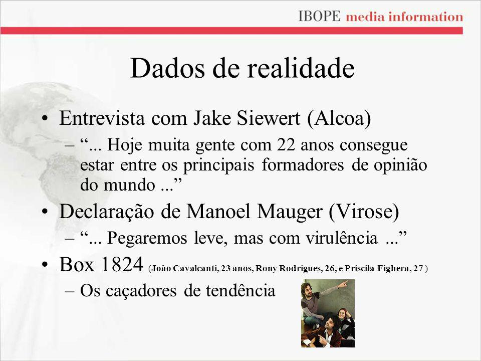 Dados de realidade Entrevista com Jake Siewert (Alcoa)