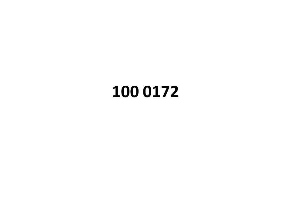 100 0172