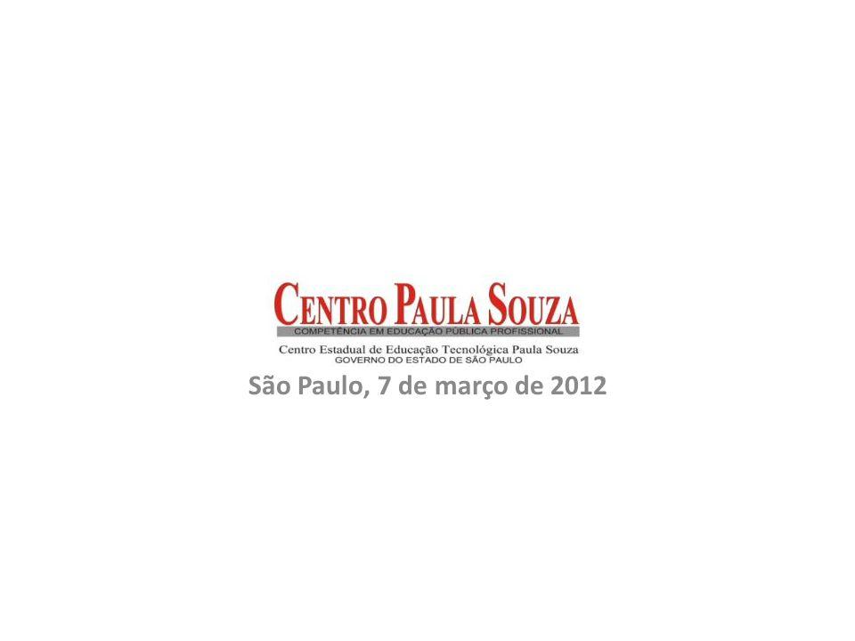 São Paulo, 7 de março de 2012