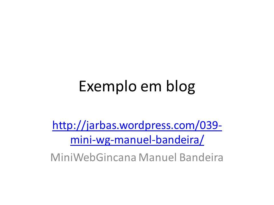 MiniWebGincana Manuel Bandeira