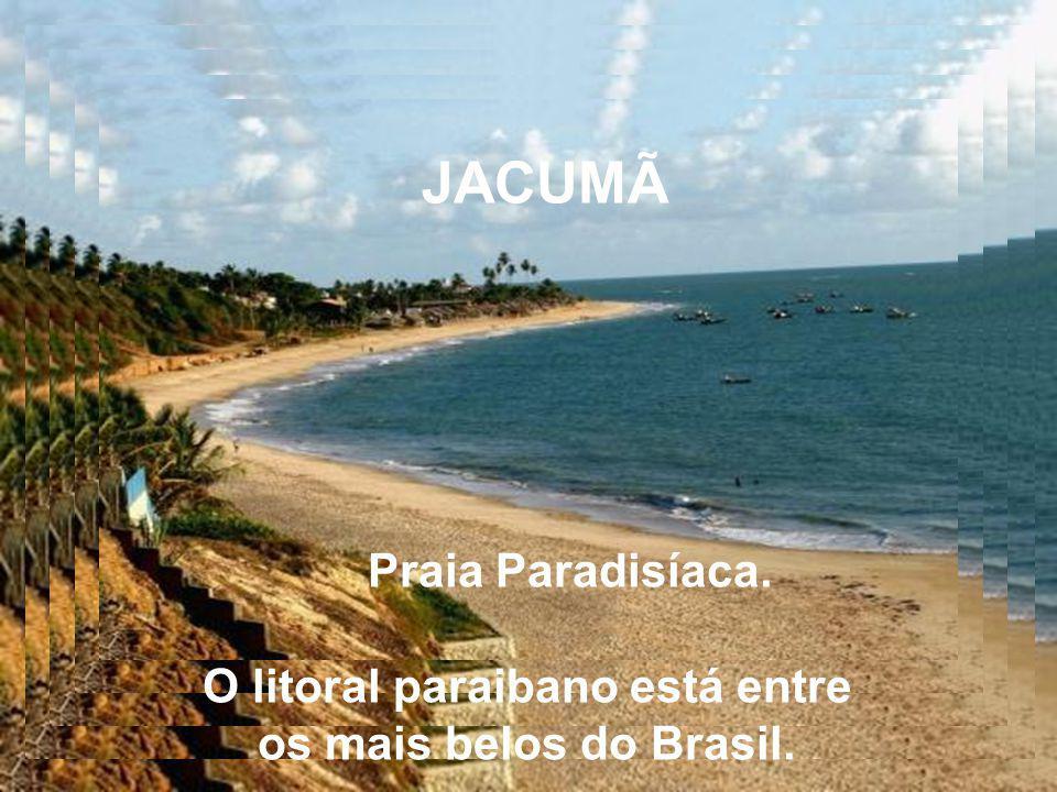 O litoral paraibano está entre