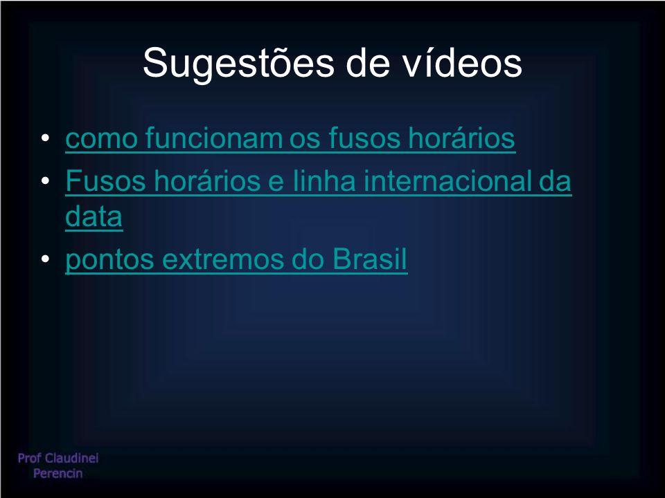 Sugestões de vídeos como funcionam os fusos horários