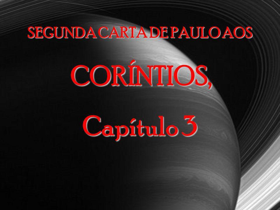 SEGUNDA CARTA DE PAULO AOS