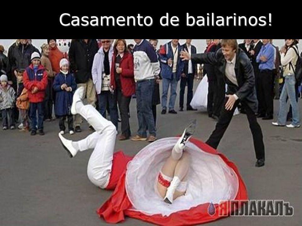 Casamento de bailarinos!