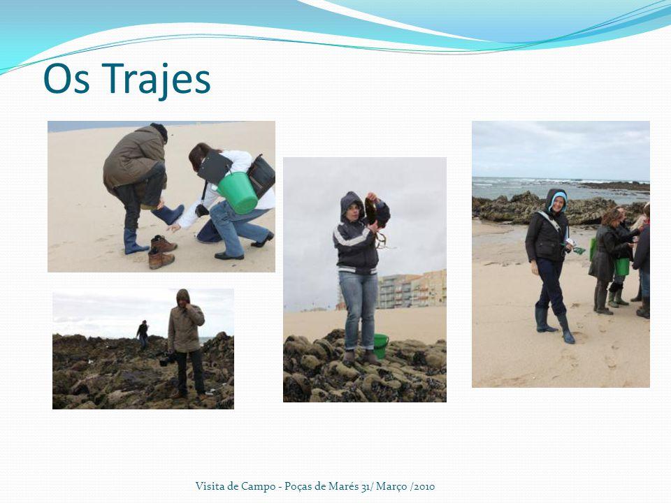 Os Trajes Visita de Campo - Poças de Marés 31/ Março /2010