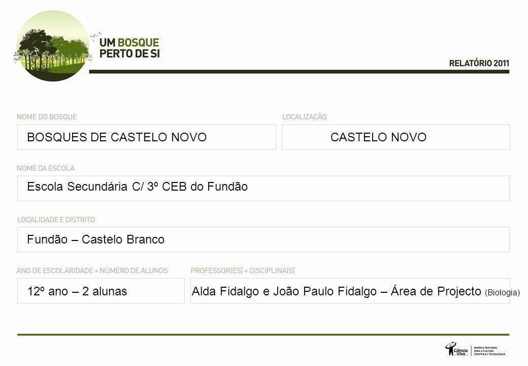 BOSQUES DE CASTELO NOVO