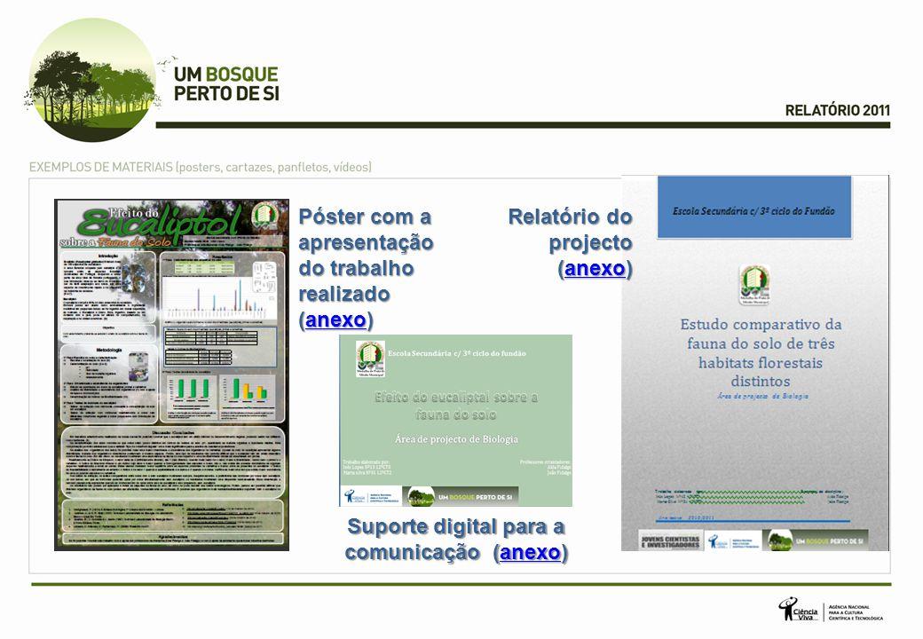 Suporte digital para a comunicação (anexo)