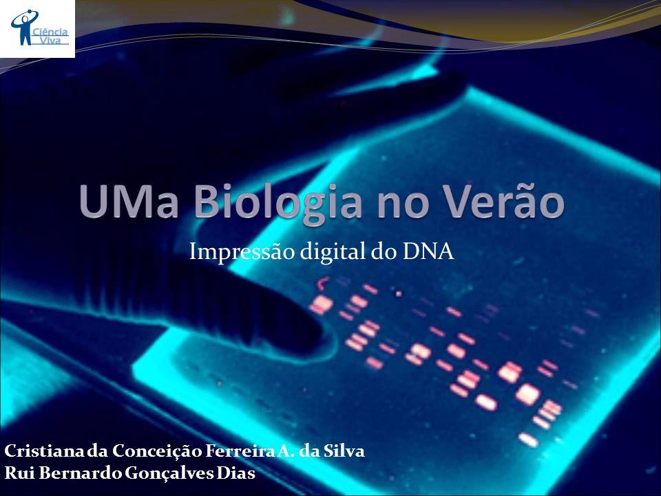 Impressão digital do DNA