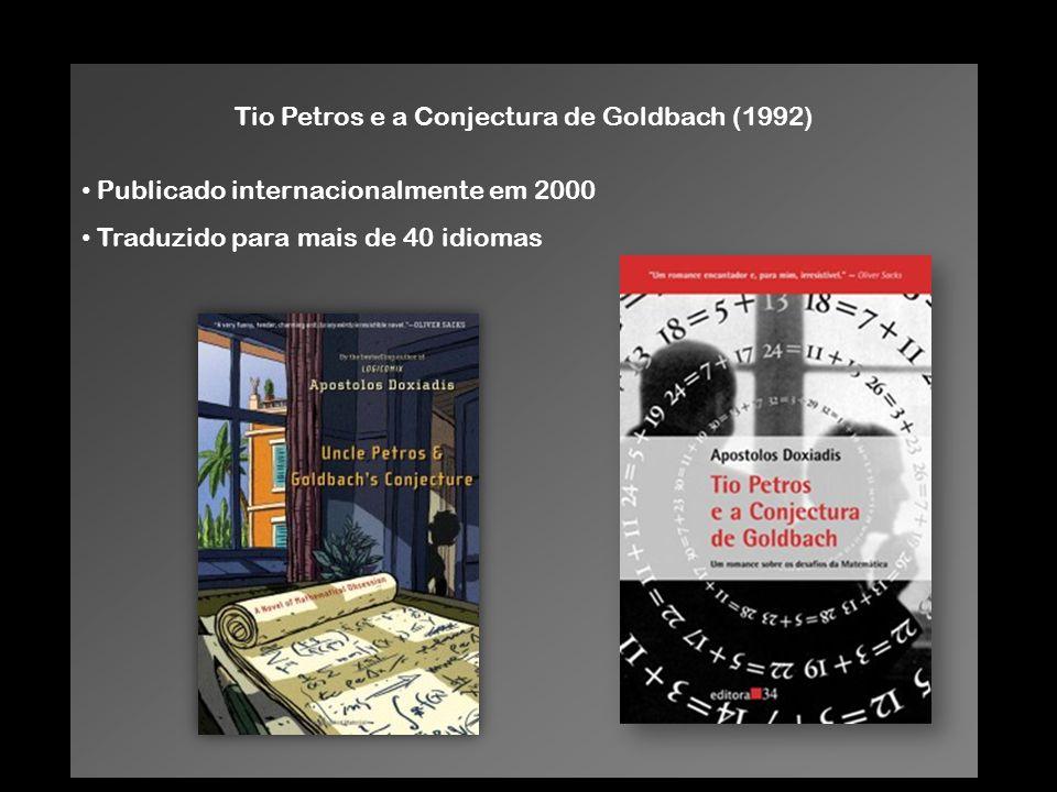 Tio Petros e a Conjectura de Goldbach (1992)
