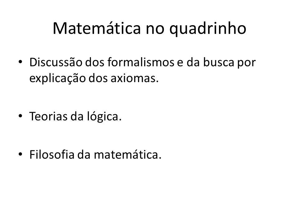 Matemática no quadrinho