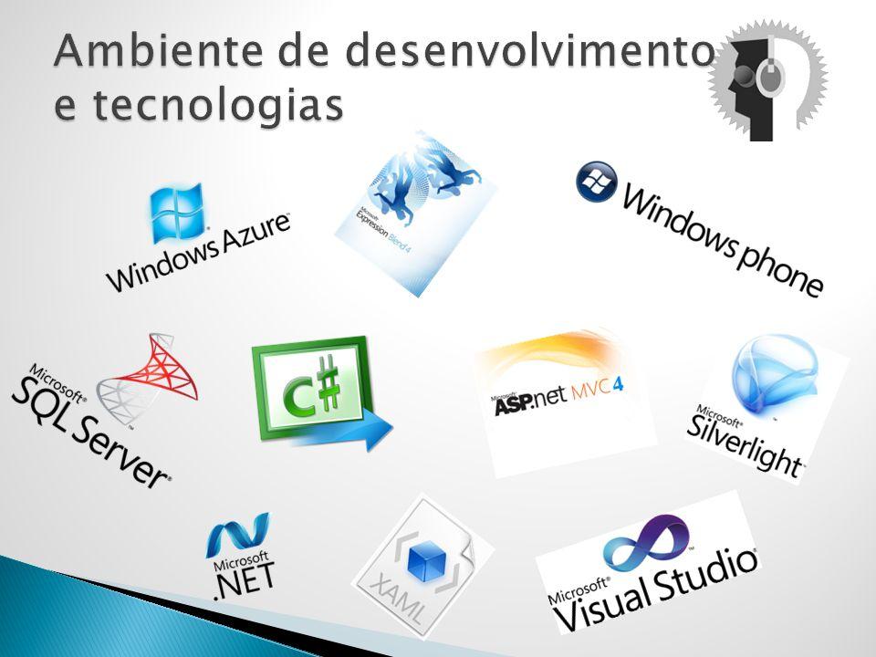 Ambiente de desenvolvimento e tecnologias