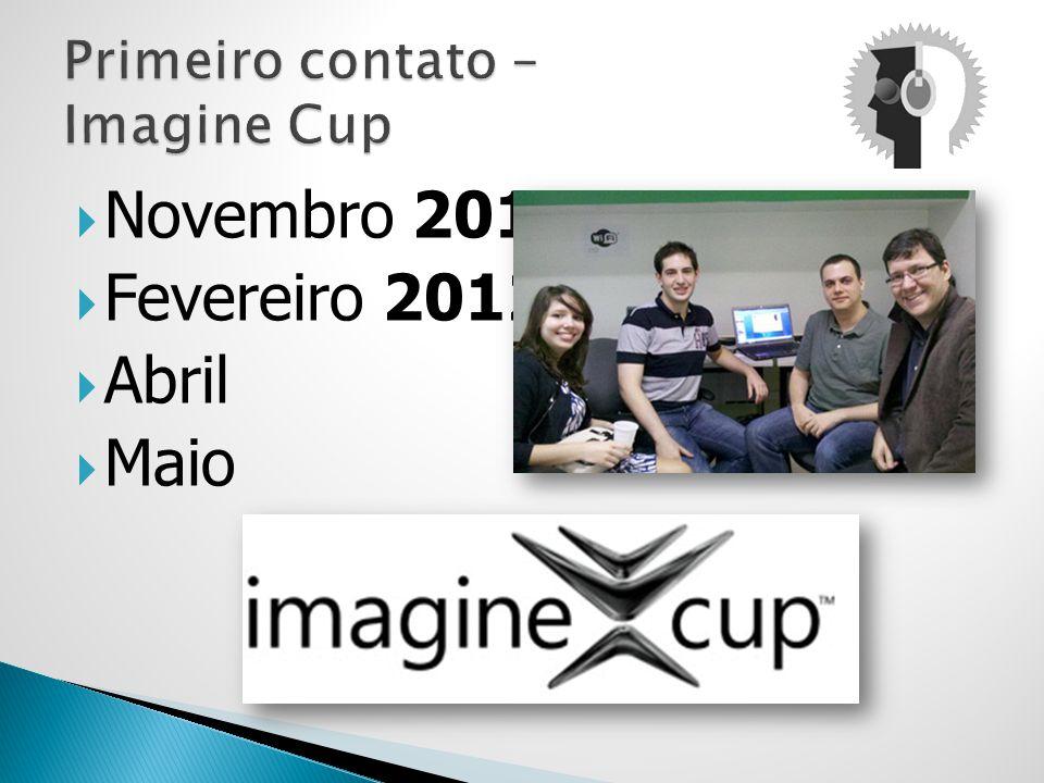 Primeiro contato – Imagine Cup