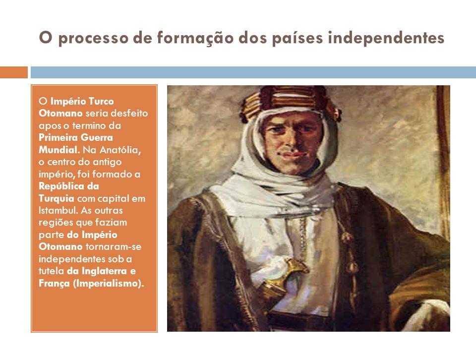 O processo de formação dos países independentes