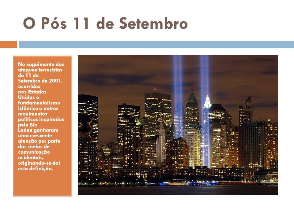 O Pós 11 de Setembro