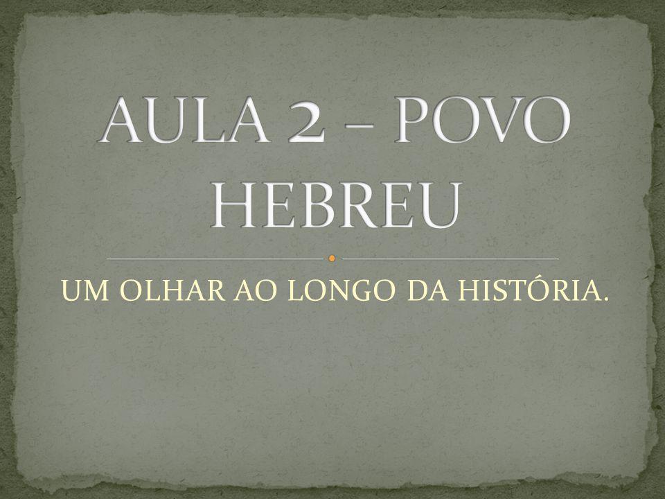 UM OLHAR AO LONGO DA HISTÓRIA.