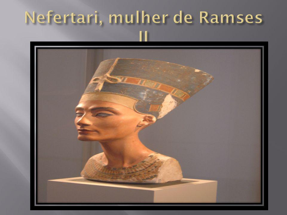 Nefertari, mulher de Ramses II
