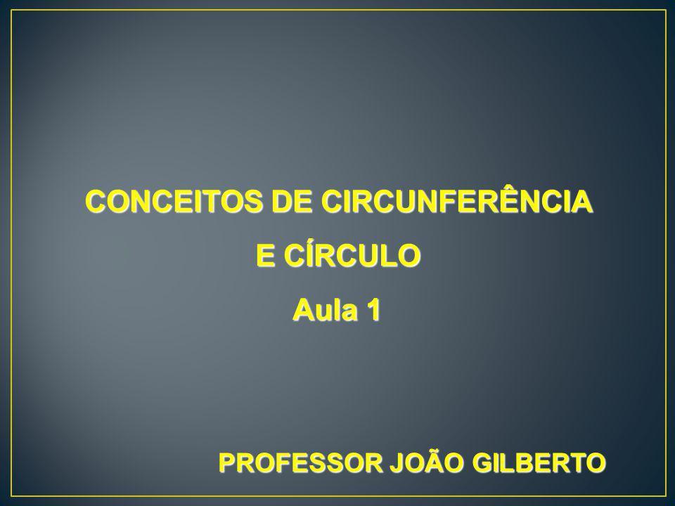 CONCEITOS DE CIRCUNFERÊNCIA