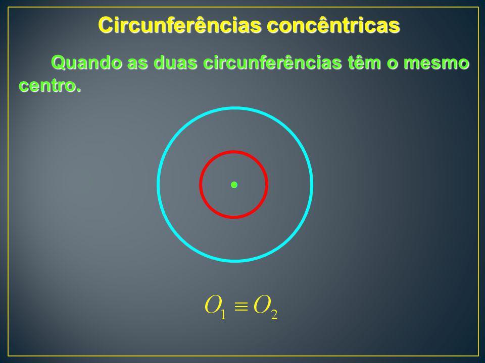 Circunferências concêntricas