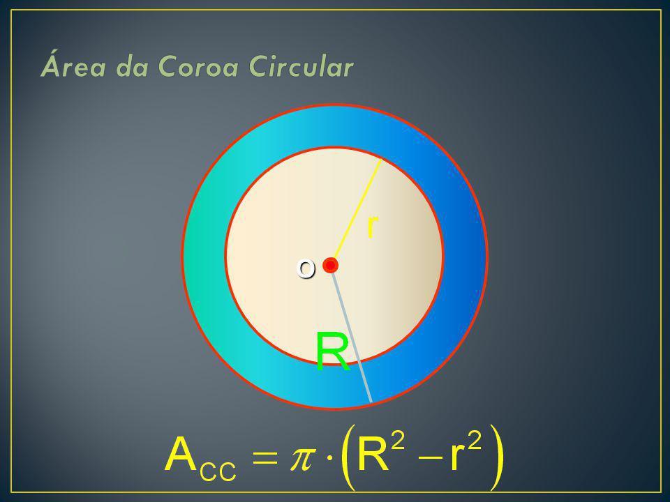 Área da Coroa Circular O