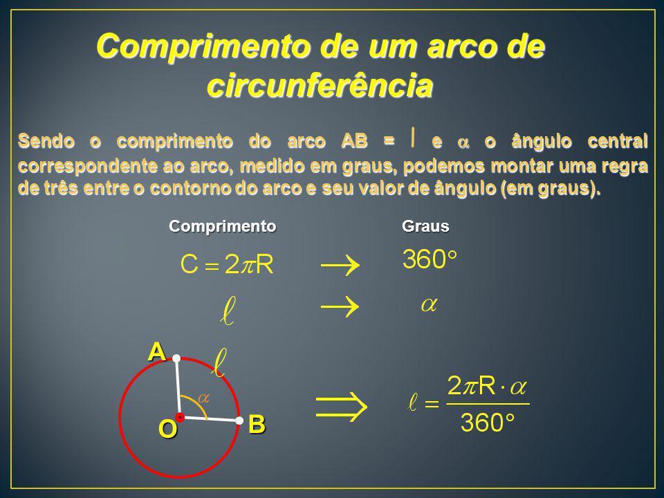 Comprimento de um arco de circunferência