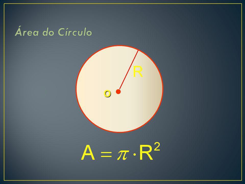 Área do Círculo O