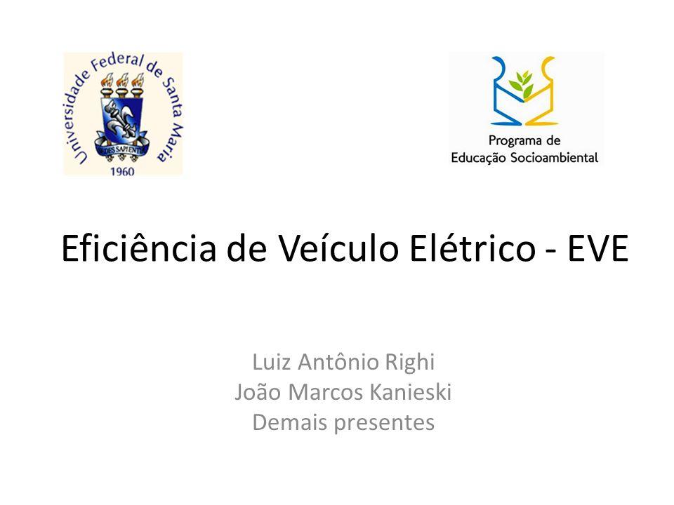 Eficiência de Veículo Elétrico - EVE