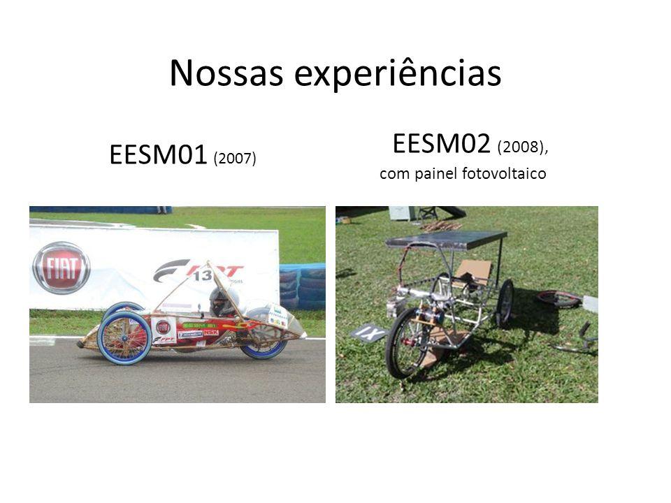 Nossas experiências EESM02 (2008), EESM01 (2007)