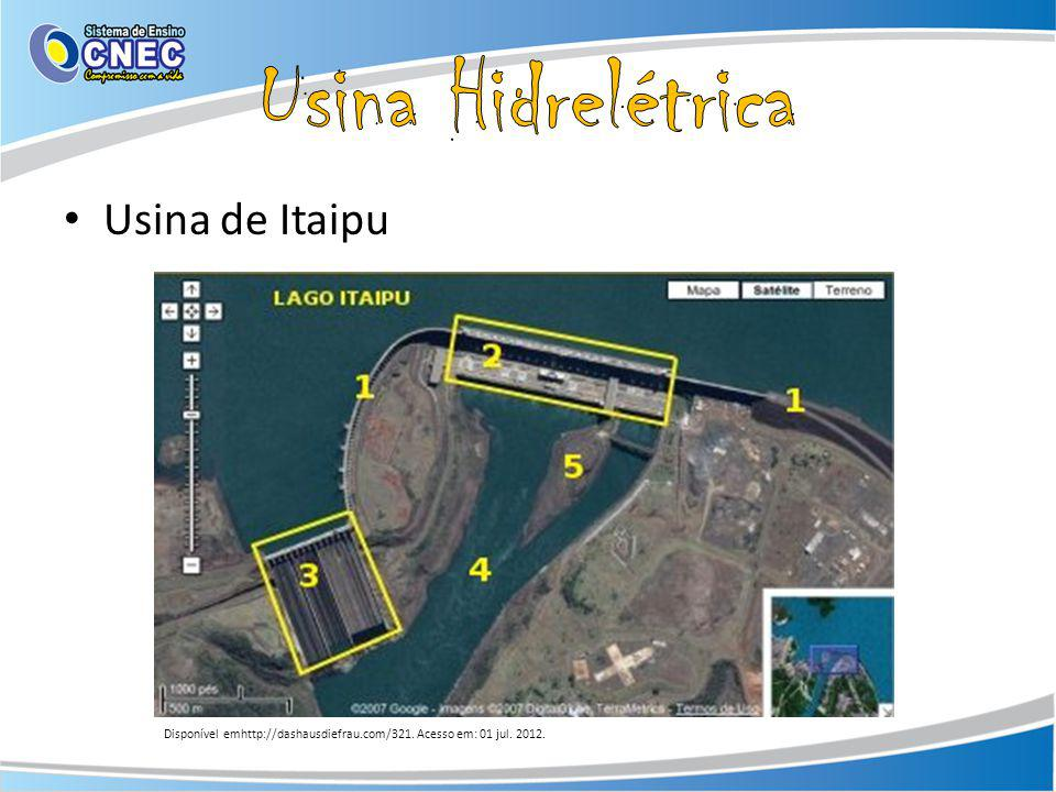Usina Hidrelétrica Usina de Itaipu