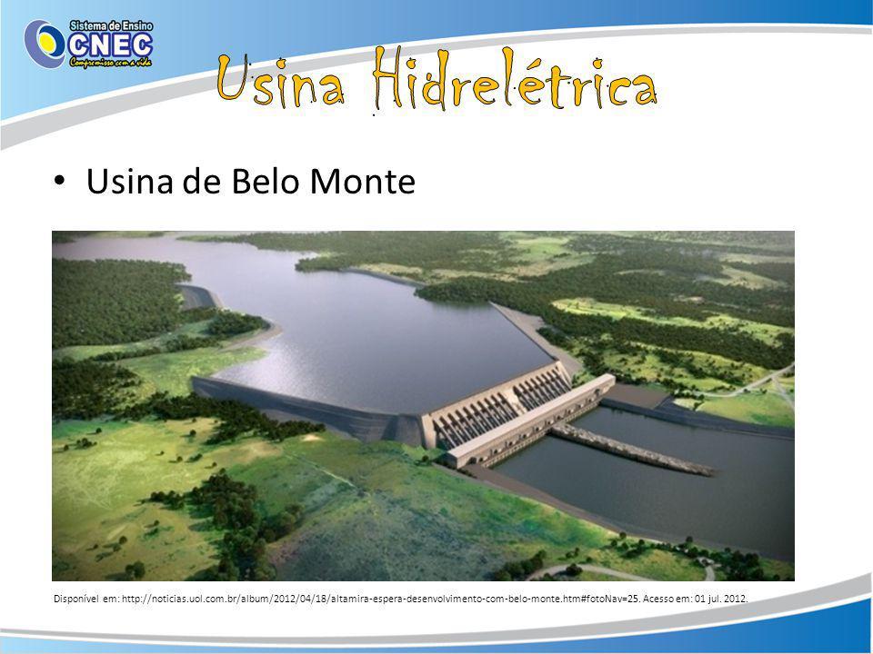 Usina Hidrelétrica Usina de Belo Monte