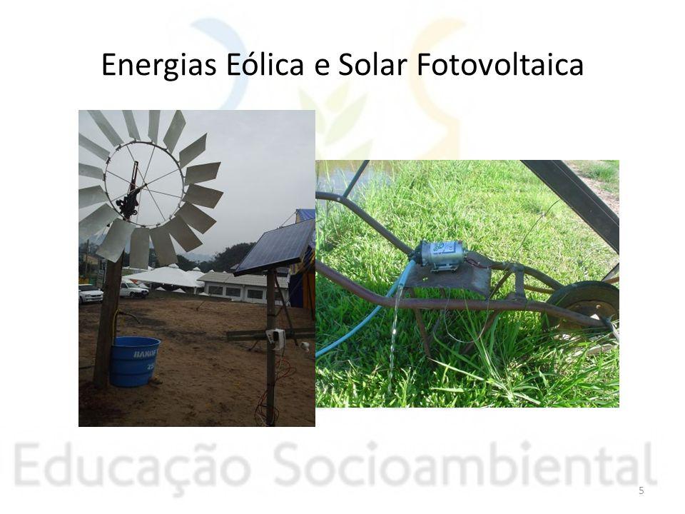 Energias Eólica e Solar Fotovoltaica