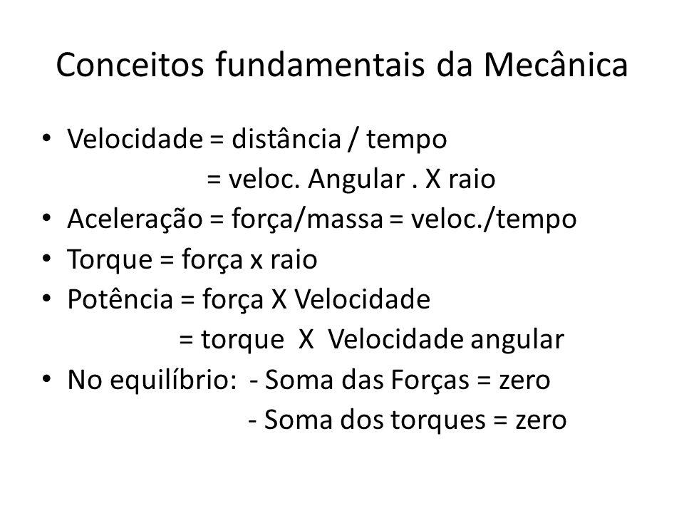 Conceitos fundamentais da Mecânica