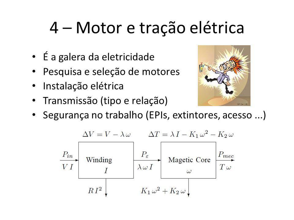 4 – Motor e tração elétrica