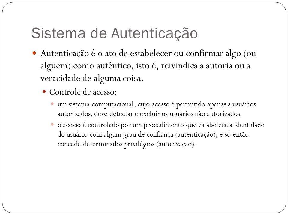 Sistema de Autenticação