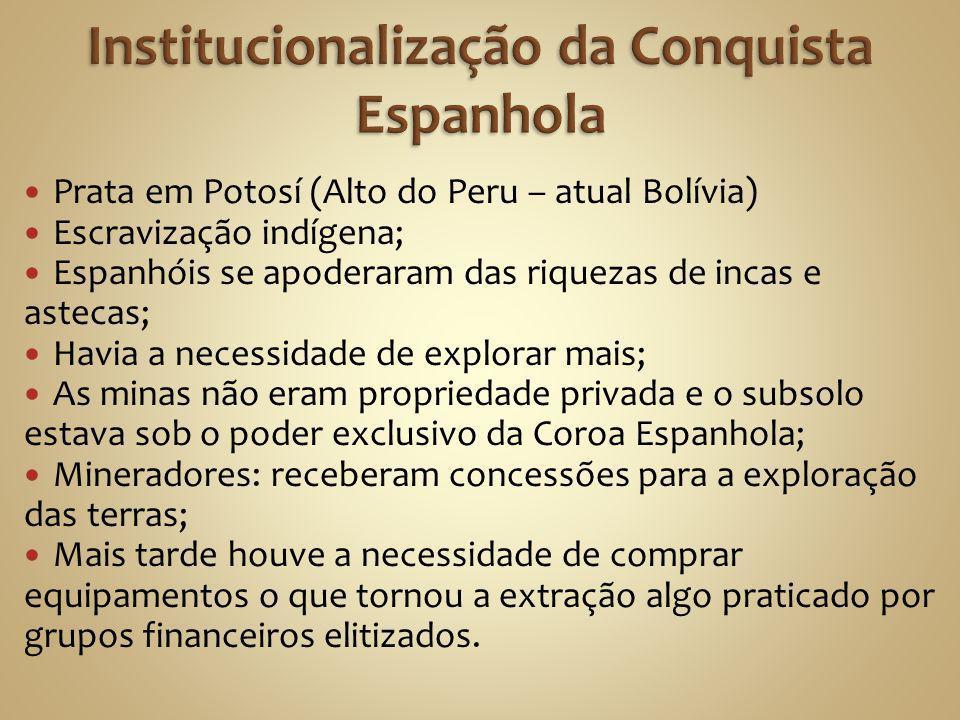 Institucionalização da Conquista Espanhola