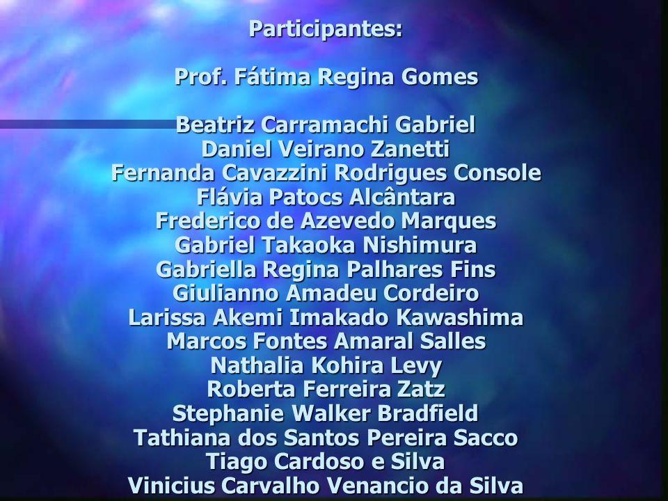 Participantes: Prof.
