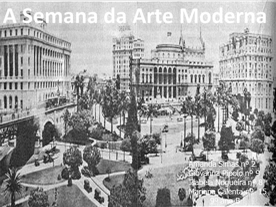 A Semana da Arte Moderna