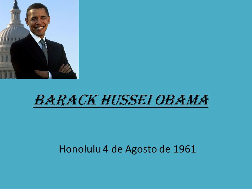 Barack Hussei Obama Honolulu 4 de Agosto de 1961