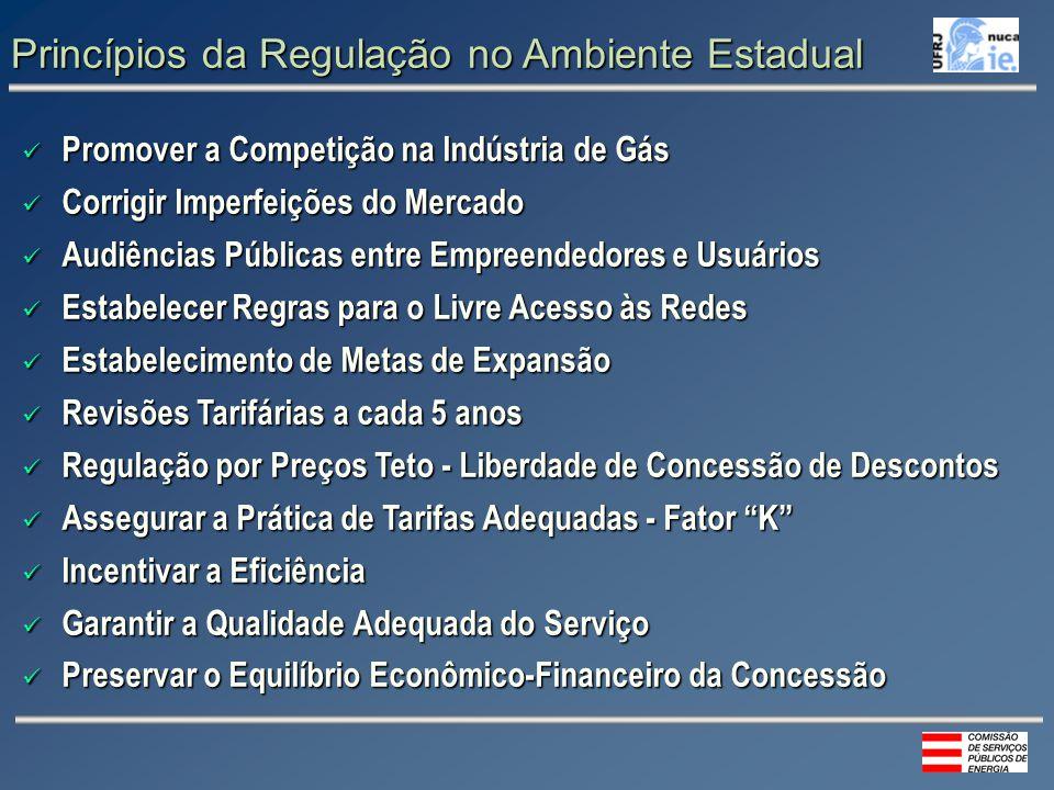 Princípios da Regulação no Ambiente Estadual