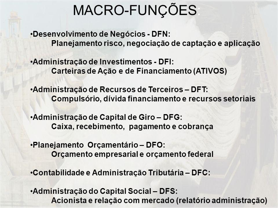 MACRO-FUNÇÕES: Desenvolvimento de Negócios - DFN: