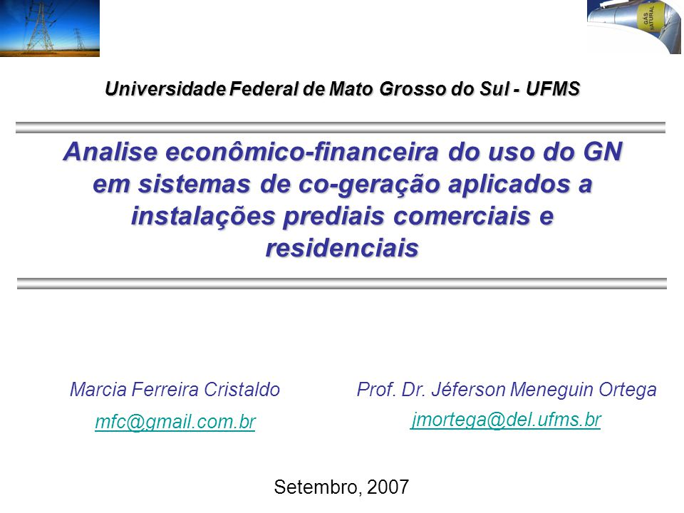 Universidade Federal de Mato Grosso do Sul - UFMS