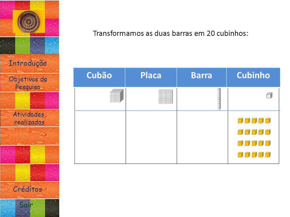 Cubão Placa Barra Cubinho