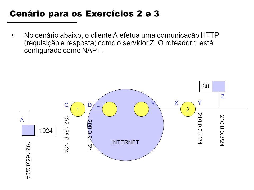Cenário para os Exercícios 2 e 3